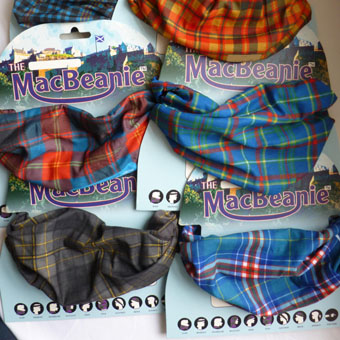 MacBeanies in Corporate Tartans