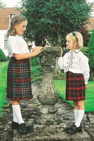 House of tartan kilt child stock tartan age 6 12 anderson tartan