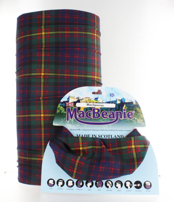 Craig Clan Scottish Tartan Multifunctional Headwear Neckwarmer  Bandana