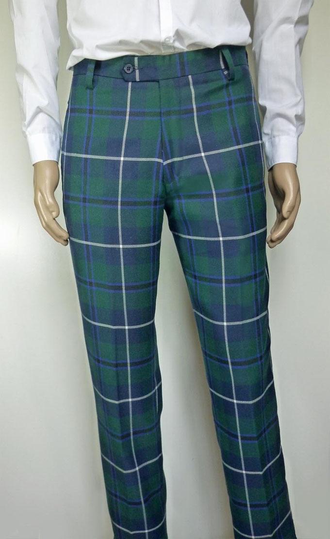 Tartan Trousers  Letters