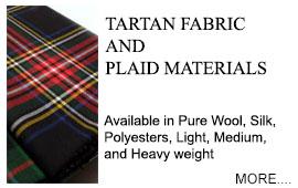 Tartan Fabrics Kilts Tartan Ribbon in Any Scottish Tartan