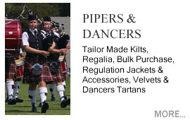 Scottish Dancers & Pipers